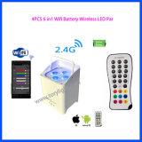 WiFi Batterie LED Radioapparat-Licht NENNWERT4 PCS-*18W