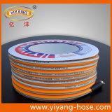 3 couches boyau de jet de PVC de pipe de qualité de 5 couches pour l'usage chimique