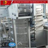 Congelatore dell'alimento di spirale di scoppio del certificato del Ce di IQF singolo doppio
