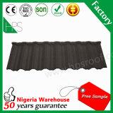 Feuilles enduites de toiture de longue d'envergure de toiture pierre de tuiles au Nigéria