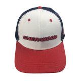 Sombrero de encargo de la gorra de béisbol del algodón del bordado del color 3D de Mutil