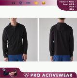 Full Zip up Windstopper Mens Gym Wear Moisture Wicking Jacket