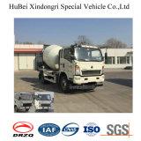 camion concreto del miscelatore di trasporto dell'euro 4 dell'uomo di 4cbm Sinotruk