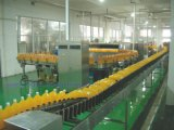 Het Sap van /Orange van het Sap van de mango/Melk/Bottelende (Was, het Vullen & het Afdekken) Machine de Hete van de Drank