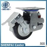 """"""" rotella Shockproof rigida di gomma della macchina per colata continua di nucleo di ferro 6"""