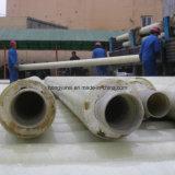 열 보급 체계 사용된 섬유유리 열 절연제 관