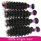100% выдвижение человеческих волос Remy, естественные волосы бразильянина девственницы