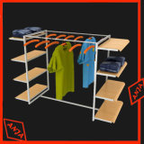 Magasin de vêtements Hanger gondole Rack de stockage Présentoir