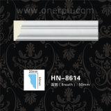 PU Cornice PU Plolyurethane литьевого формования для литьевого формования Cornice Hn-8614