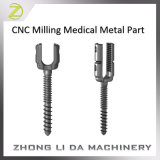 CNC do costume que mmói a peça de metal médica
