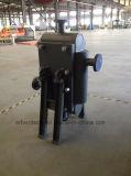 Wbz 500 반원형 쉘 모든 용접된 격판덮개 열교환기 또는 고압 또는 고열