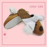 Wonmen New Style Plush Interior Quente Bonito Chinelo de Quarto