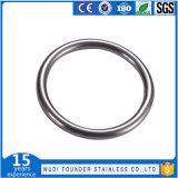 Edelstahl-runder Ring-Faltenbildung-Ring