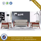 Muebles de oficina moderno de cuero genuino Sofá Sofá Oficina (HX-CF011)