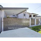 Jardin Keenhai allée Gates pour la conception en aluminium