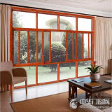 Preiswerter Fabrik-Verkaufspreis-schiebendes Glasfenster-Aluminiumentwurf China-Foshan für Verkauf