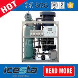 Tubérculo de hielo comercial Icesta máquina para la venta de hielo 25t/24hrs.