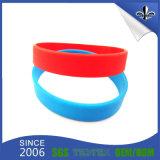Bracelet coloré bon marché en bloc en gros de silicium de bande de poignet de sport