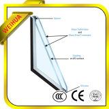 Tempered di vetro del rivestimento basso economizzatore d'energia di E per costruzione commerciale