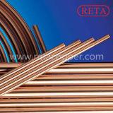 C12200 Disco temperar em linha reta do tubo de cobre