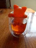 新しい猫の整形シリコーンの茶Infuserの新しい子ネコのシリコーンの茶Infuserのキティのシリコーンの茶Infuser