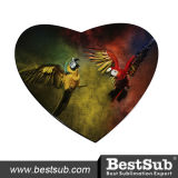 Bestsub 5mm Heart Shaped Sublimation Mouse Pad (SB68-7)