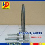 Anel de pistão do motor de PC200-5 6D95 para as peças sobresselentes da máquina escavadora de KOMATSU (6207-31-2500)