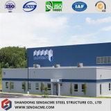 Magazzino strutturale d'acciaio della fabbrica di qualità di disegno moderno in Sudafrica