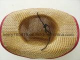 Commercio all'ingrosso su ordinazione del cappello di paglia del cappello di paglia di promozione (DH-LH7210)