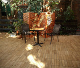 Fácil Intallation Outdoor Wood Interlocking Floor 30 * 30cm