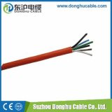 Du câble d'alimentation de rouge de la Chine