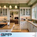 Madeira maciça de estilo italiano personalizados de armários de cozinha armário de madeira