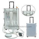 Bewegliches zahnmedizinisches Großseriengerät mit dem Aushärten des Lichtes und des Schabers