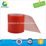 150 microns polyester rouge ruban adhésif double face (par6967R)
