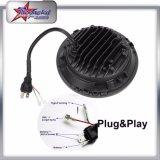 Venta al por mayor 50W Hi / Low haz 7 pulgadas LED faro para Jeep con Halo