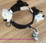 De draagbare Navulbare Chirurgische LEIDENE Frontale Lamp van Koplampen