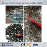 Le gomme residue riciclano la linea di produzione completa per polvere fine di gomma