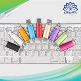 Unidade flash colorida OTG USB 2.0 de 2 em 1 para telefone inteligente