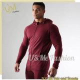 Фитнес-Дышащий спортивный костюм в удлиненной худи Tracksuits для мужчины