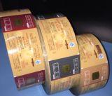 La pellicola di rullo automatica della pellicola del sacchetto degli spuntini del pacchetto