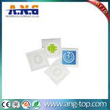Tag da etiqueta NFC do diâmetro Ntag213 de 25mm para cães e animais de estimação