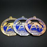 Medaglia lottante di sport del premio di campionati di Bcaa dell'oggetto d'antiquariato su ordinazione del metallo