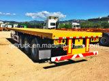 Cimcトレーラー、40FTの平面のトレーラー、容器のトレーラー