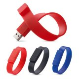 Unidade Flash USB bracelete Pulseira Pen Drive disco flash USB
