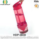 la bottiglia di acqua di plastica di infusione della frutta di 750ml Tritan, BPA libera la bottiglia di acqua di plastica (HDP-0830)