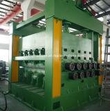 Staal aan de Machine van de Lengte met Coiler en Decoiler wordt gesneden die