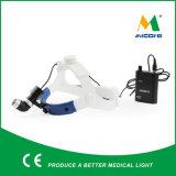 Micare Jd2500の高輝度充電電池LEDの外科ヘッドライト