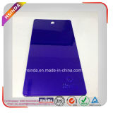 Rivestimento trasparente personalizzato della polvere della vernice viola scura della polvere della caramella