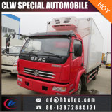 China bilden 5-7ton IsolierVan Truck Body Refrigeator Van Truck