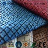Cuoio sintetico del PVC di vendita calda per la cassa posta del vestito e del sacchetto